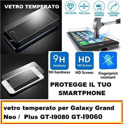 vetro temperato per Galaxy Grand Neo / Plus GT-I9080 GT-I9060 5.0""