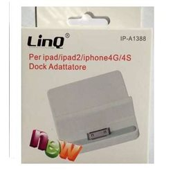 DOCK LINK per ipad ipad2 iphone 4g 4s