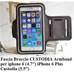 Fascia Braccio CUSTODIA Armband per iPhone 6 Plus Custodia (5.5″)