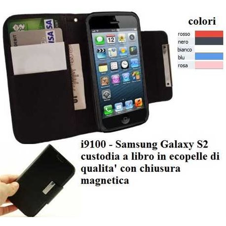 custodia a libretto samsung galaxy s2