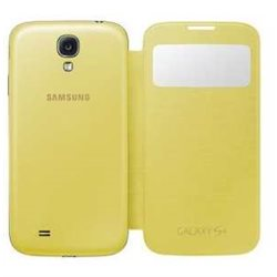 SAMSUNG FLIP COVER S4 originale S VIEW colore giallo