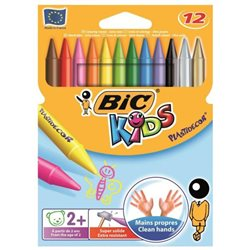 BIC KIDS PLASTICDECOR PASTELLI COLORATI