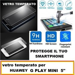 vetro temperato per Huawey G PLAY MINI 5""