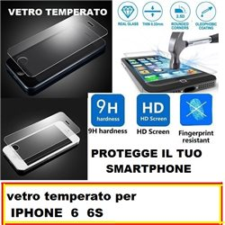 vetro temperato per IPHONE 6 6S