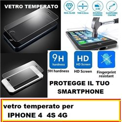 vetro temperato per IPHONE 4 4S 4G