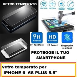 vetro temperato per IPHONE 6 6S PLUS 5.5""