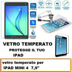 vetro temperato per IPAD MINI 4 7,9""