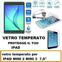 vetro temperato per IPAD MINI 2 MINI 3 7,9""
