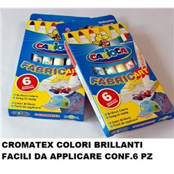 CROMATEX COLORI BRILLANTI FACILI DA APPLICARE CONF.6 PZ
