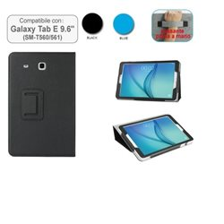 Custodia in ecopelle compatibile con Galaxy Tab E 9.6 - T560/561