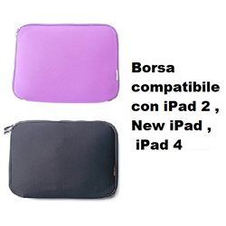 Borsa compatibile con iPad 2 , New iPad , iPad 4