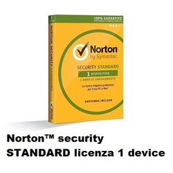 Norton™ security STANDARD Antivirus licenza 1 device