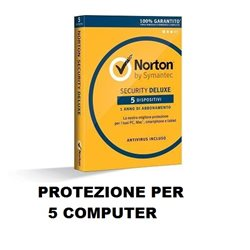 Norton™ security STANDARD Antivirus licenza 5 device