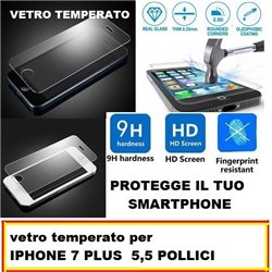 vetro temperato per IPHONE 7 PLUS 5,5""