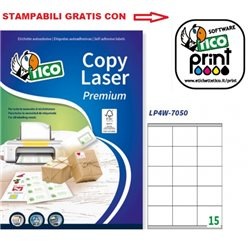 Codice LP4W-7050 70x50mm 100ff