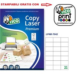 Codice LP4W-7042 70x42mm 100ff