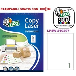 Codice LP4W-210297 210x297mm 100ff