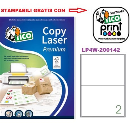 Codice LP4W-200142 200x142mm 100ff