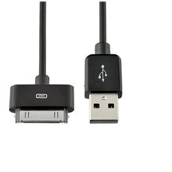 CAVO USB COMPATIBILE per l'uso con IPHONE 3, 3GS, 4G, 4GS , IPAD COLORE NERO 1,5 METRI