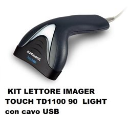 KIT LETTORE IMAGER TOUCH TD1100 90 LIGHT USB