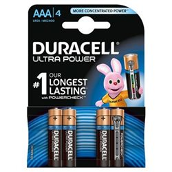 Duracell AAA MX2400/LR03 Ultra Power Blister 4pz.