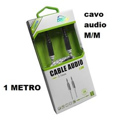 Cavo Audio Stereo Jack 3.5mm. 1 metro LD-8126