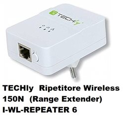 TECHly Ripetitore Wireless 150N (Range Extender) I-WL-REPEATER 6