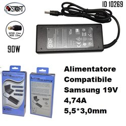 Alimentatore Compatibile Samsung 19V 4,74A 5,5*3,0mm , St@rt
