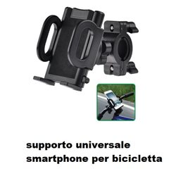 SUPPORTO COMPATIBILE per uso SMARTPHONE IPHONE BICI UNIVERSALE