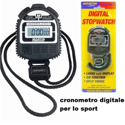 MARTIN DIGITAL STOPWATCH CRONOMETRO DIGITALE