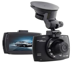 Telecamera DVR Camera Da Auto Registratore Video Monitor LCD 2.7""