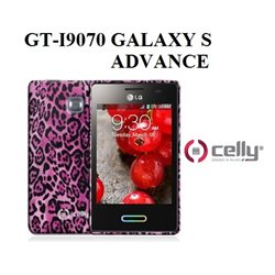 CELLY GT-I9070 GALAXY S ADVANCE Cover per Smartphone BW ANIM TPU