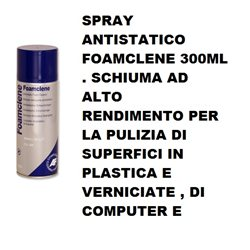 SPRAY ANTISTATICO FOAMCLENE 300 ML