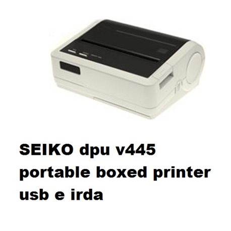 SEIKO dpu v445 portable boxed printer usb e irda