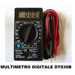 MULTIMETRO DIGITALE TESTER DT830