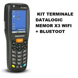 KIT TERMINALE DATALOGIC MEMOR X3 WIFI + BLUETOOT