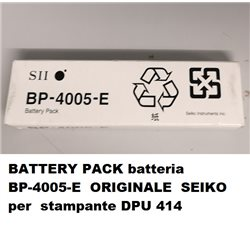 BATTERY PACK batteria BP-4005-E ORIGINALE SEIKO per stampante DPU 414