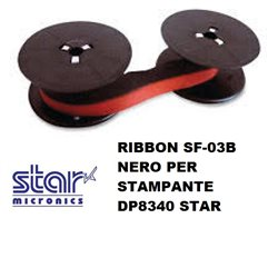 RIBBON SF-03B NERO PER STAMPANTE DP8340 STAR