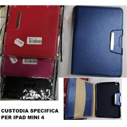 CUSTODIA PER TABLET IPAD MINI 4 con chiusura