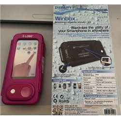 WATERPROOF PHONEPAD SPEAKER CASE WINBOX