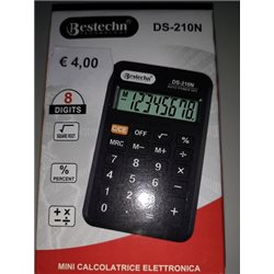 calcolatrice mini tascabile bestechn DS-210N 8 digit