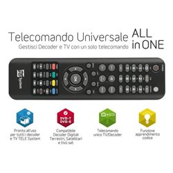 Telecomando Universale TELESYSTEM all in one