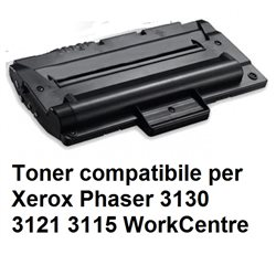 Toner compatibile per Xerox Phaser 3130 3121 3115 WorkCentre