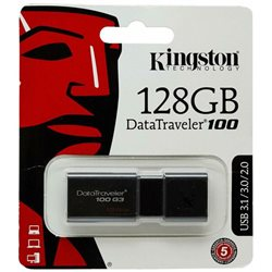 KINGSTON chiavetta USB 3.0 3.1 128GB DT100G3/128GB