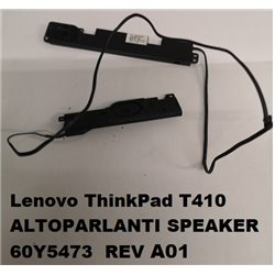 Lenovo ThinkPad T410 ALTOPARLANTI SPEAKER 60Y5473 REV A01