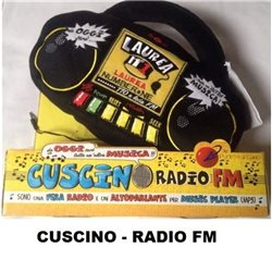 CUSCINO RADIO FM - RADIO ALTOPARLANTE PER MUSIC PLAYER - LAUREA