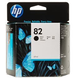 cartuccia HP 82 nero CH565A 69ML