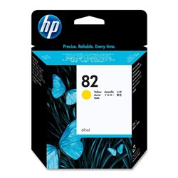 cartuccia HP 82 giallo C4913A 69ML