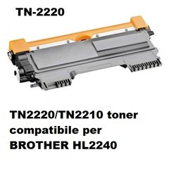 TN2220/TN2210 toner compatibile per BROTHER HL2240