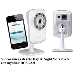 Videocamera di rete Day & Night Wireless N con mydlink DCS-932L